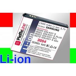 BATTERIA PER SAMSUNG I9000-01 3,7 VOLT 1500 MAH A LITIO