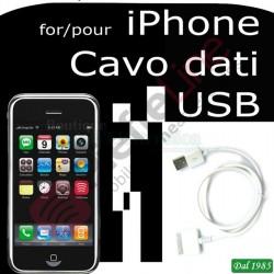 CAVO USB PER IPHONE 3-3GS 4- 4S