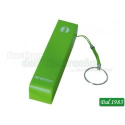 POWER BANK 2600MAH VERDE