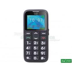 TELEFONO CELLULARE PER ANZIANI CON TASTI GRANDI TREVI SICURO 10 NEROCOD: 0SIC1000