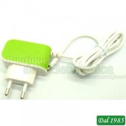ALIMENTATORE 100-240VCA 5V 2A MICR0 USB 5P