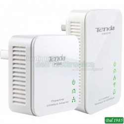 KIT POWERLINE WI-FI ADATTATORE+ROUTER PW210A+P200 300Mps