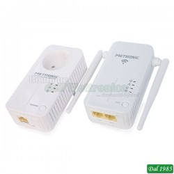 POWER LINE + RIPETITORE WIFI 500 MBITS
