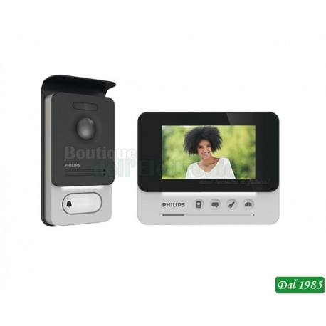 VIDEOCITOFONO PHILIPS 7\'\' LCD COMPACT 531004 DES9300 VDP