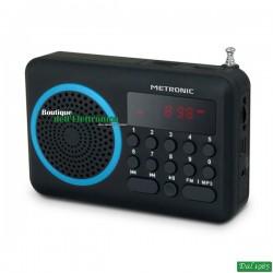 RADIO PORTATILE USB-SD BLU