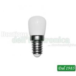 LAMPADA A LED 230V 1,5W PICCOLA PERA T22 BIANCO CALDO