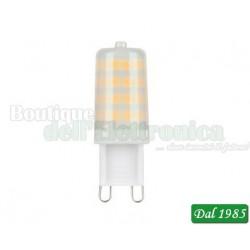 LAMPADA BISPINA A LED G9 230V 3,5W BIANCO NATURALE