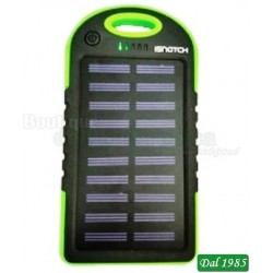 POWER BANK A ENERGIA SOLARE 3000MAH G3S - VERDE