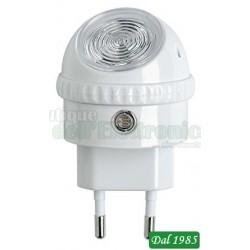 LAMPADA NOTTURNA CON RILEVATORE CREPUSCOLARE A LED 230 VOLT 1 WATT
