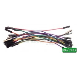 JUMPER WIRES F/F 100 mm