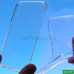 CUSTODIA IN SILICONE TPU BIANCA PER IPHONE XR