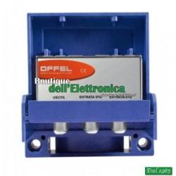 AMPLIFICATORE DA PALO OFFEL (28-011) 2 INGR UHF+MIX VHF 22DB