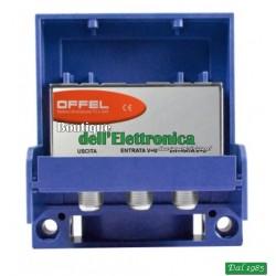 AMPLIFICATORE DA PALO OFFEL (28-016) 2 INGR. V+U PER 2 LOG.12V 50 mA