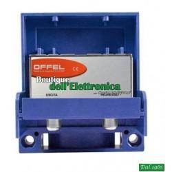 AMPLIFICATORE DA PALO OFFEL (28-020/L1) PER ANTENNA LOGARITMICA 21/60 LTE