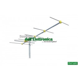 ANTENNA OFFEL BANDA 3 VHF 6 ELEMENTI GIALLA