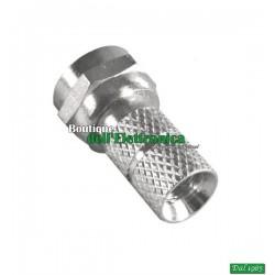 CONNETTORE MASCHIO F 5 mm per cavo 5 mm (17-750)