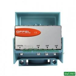 MISCELATORE TV OFFEL (22-065) 1VHF 2 UHF