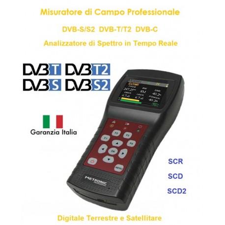 metronic misuratore di campo  MISURATORE DI CAMPO METRONIC SATELLITARE+TERRESTRE+CABLE