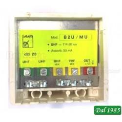 AMPLIFICATORE DA PALO UHF20dB