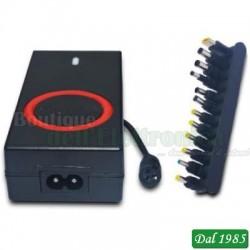 ALIMENTATORE UNIVERSALE AUTOMATICO 90W + USB5V 1A