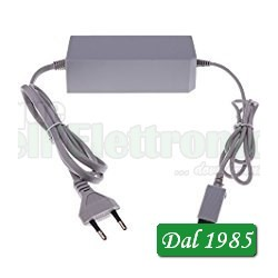 ALIMENTATORE WII AC ADAPTER INPUT: AC 100-240V OUTPUT: DC 12V 3,7A