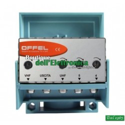 AMPLIFICATORE 3 INGR. 30DB 3/4/5