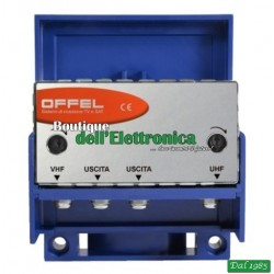 AMPLIFICATORE AM30/2 USCITE (art. 28-049/2) OFFEL