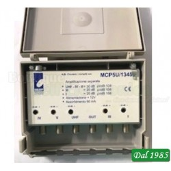 AMPLIFICATORE DA PALO A BANDE SEPARATE - I - III - UHF - IV - V