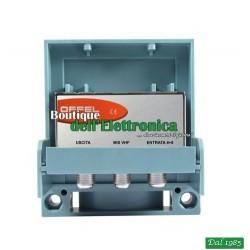 AMPLIFICATORE DA PALO OFFEL (23-231) 4+5 BANDA VHF MIX 25dB