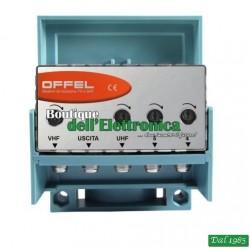 AMPLIFICATORE DA PALO OFFEL (24-321) LX3/30 VHF-4-5 BANDA 30 DB