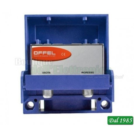 AMPLIFICATORE DA PALO OFFEL (28-015) L.B V+U 15DB LTE READY