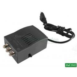AMPLIFICATORE DI LINEA OFFEL (28-211) 20 dB 130mA 12V 108 dBµV LTE READY