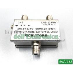 COMMUTATORE SAT LNB - LNB22Khz (01-673/C)