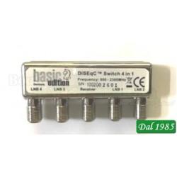 DISEqC SWITCH 4IN 1 Freq:900-2300Mhz