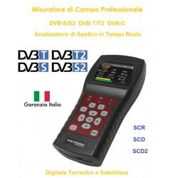 MISURATORE DI CAMPO METRONIC SATELLITARE+TERRESTRE+CABLE