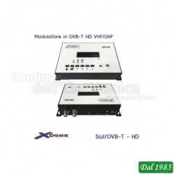 MODULATORE IN DVB-T FULL HD VHF/UHF CON DISPLAY
