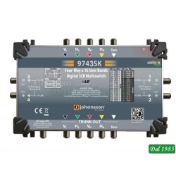 MULTISWITCH dCSS MSW544 USCITE DERIVATE dCSS/Legacy TV-SAT