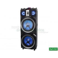 ALTOPARLANTE AMPLIFICATO 300W TREVI XF 4000 DJ