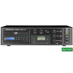 AMPLIFICATORE AUDIO MONO PA-890RCD CD/MP3 e TUNER