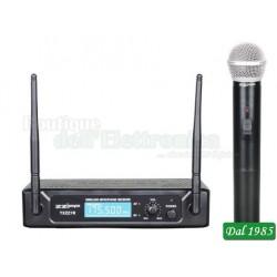 KIT RADIOMICROFONO A GELATO VHF 175,50MHZ (TXZZ101)