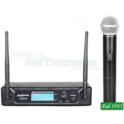 KIT RADIOMICROFONO A GELATO VHF 197,15 (TXZZ103)
