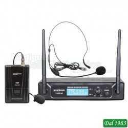 KIT RADIOMICROFONO AD ARCHETTO VHF 183,57 MHZ (TXZZ112)