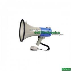 MEGAFONO 25W CON SIRENA & MICROFONO ESTRAIBILE