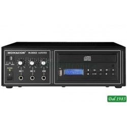 MIXER AMPLI USB/CD INTEGRATO, 100V 15W 220V/12V