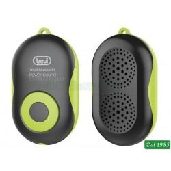 MINI LETTORE MP3 ALTOPARLANTE VIVAVOCE BLUETOOTH TREVI MPV 1710 SB VERDE