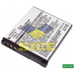 BATTERIA LION FITS CANON NB-8L 3,6 VOLT 740 MAH A LITIO