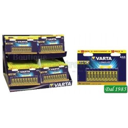 BLISTER 10 BATTERIE BL10/AAA - BL10/AA STILO - MINISTILO VARTA