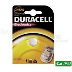PILA AL LITIO DL 2025 DURACELL