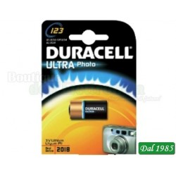 PILA AL LITIO DL123 (CR123) DURACELL