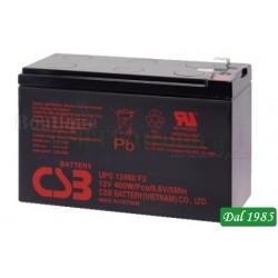 BATTERIA AL PIOMBO UPS12460 CSB 12 VOLT -9 AMPER